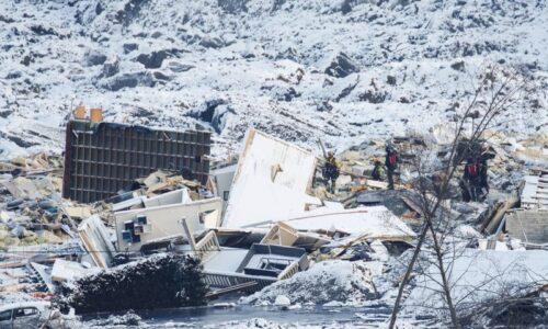 Anjing ditemukan hidup-hidup menimbulkan harapan pada longsor mematikan Norwegia