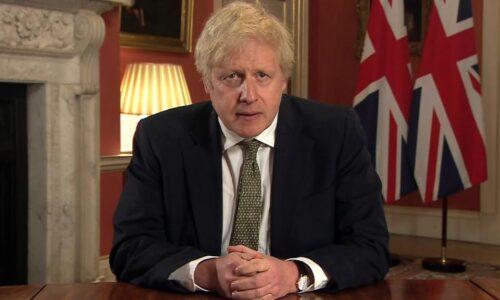 Perdana Menteri Inggris Boris Johnson mengumumkan penguncian baru